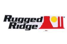 Decal, Black, Rugged Ridge Logo