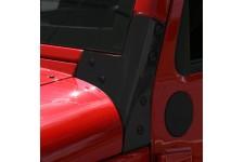 Narożnik przedniej szyby, Czarny : 07-17 Jeep Wrangler JK