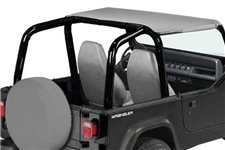 Summer Brief Top, Gray : 92-95 Jeep Wrangler YJ