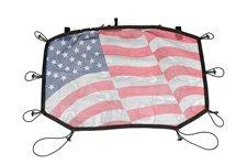 Dach siatkowy typu Eclipse, Amerykańska Flaga, : 07-17 Jeep Wrangler JK/JKU