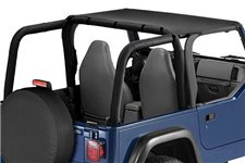 Summer Brief Header, Black Denim : 97-06 Jeep Wrangler TJ