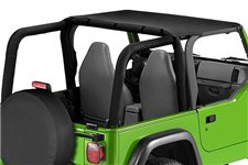 Summer Brief Header, Black Diamond : 97-06 Jeep Wrangler TJ