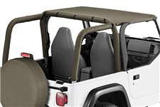 Header Summer Brief, Khaki Diamond : 97-06 Jeep Wrangler TJ
