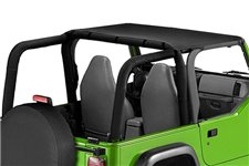 Pocket Brief Top, Black Diamond : 97-06 Jeep Wrangler TJ