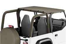 Pocket Brief Top, Khaki Diamond : 97-06 Jeep Wrangler TJ