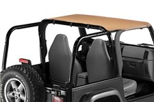 Pocket Brief Top, Spice : 97-06 Jeep Wrangler TJ