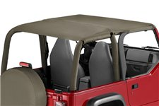Island Pocket Topper, Khaki Diamond : 97-06 Jeep Wrangler TJ