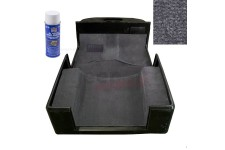 Deluxe Carpet Kit with Adhesive, Gray : 97-06 Jeep Wrangler TJ