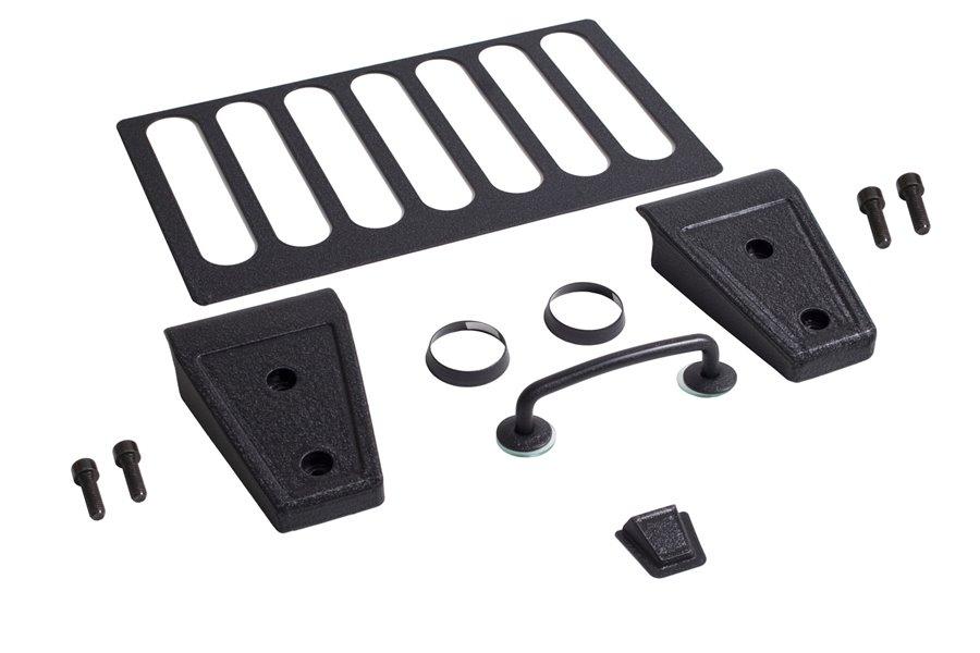 Zestaw akcesorii maski, Czarny teksturowany : 07-12 Jeep Wrangler JK