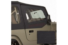 Door Skins, Black Denim : 88-95 Jeep Wrangler YJ