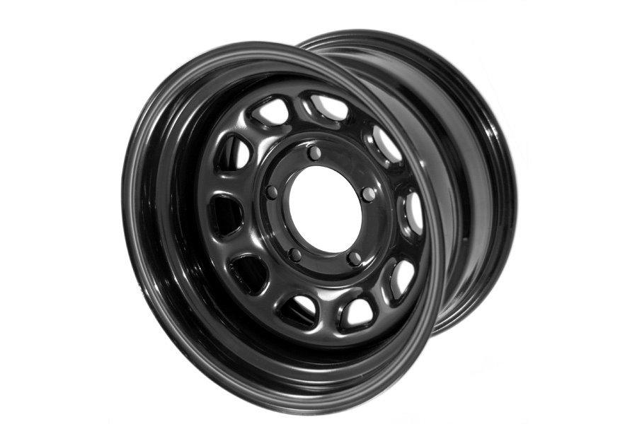 D Window Wheel, 15x10, Black, 5x4.5