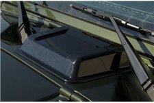 Cowl Vent Scoop, Smoke : 98-17 Jeep Wrangler TJ/JK