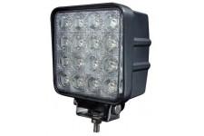 Lampa LED 48W : HOMOLOGACJA, wiązka STANDARD, LED Standard, kwadratowa 110mm