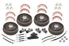 Drum Brake Overhaul Kit : 48-63 Willys/Jeep Models