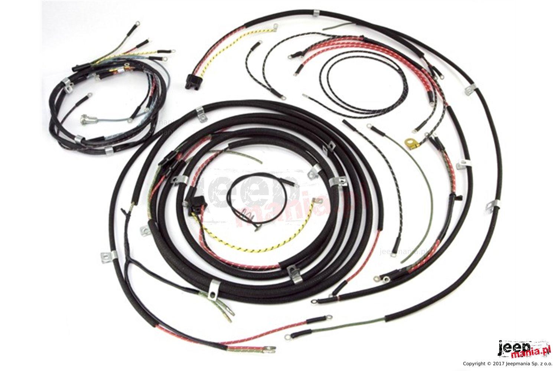 Wizka Przewodw 48 53 Willys Cj3a Jeepmania Akcesoria I Wiring Harness