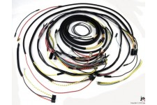 Wiring Harness, w/ Cloth Cover : 55-56 Jeep CJ5