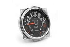 Speedometer Cluster, 0-140 KPH : 80-86 Jeep CJ5/CJ7/CJ8