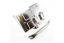 Stainless Steel Battery Tray : 76-86 Jeep CJ Models