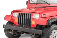 Grille Insert Kit, Black : 87-95 Jeep Wrangler YJ