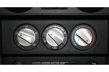 Aluminiowe pokrętła nawiewu, Niebieski : 07-10 Jeep Wrangler JK