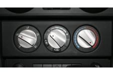 Aluminiowe pokrętła nawiewu, Czerwony : 07-10 Jeep Wrangler JK