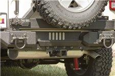 Schodek aluminiowego tylnego zderzaka XHD, 07-15 Jeep Wrangler