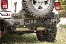Końcówki aluminiowego tylnego zderzaka XHD, 07-15 Jeep Wrangler