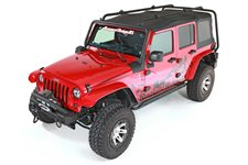 Sherpa Roof Rack : 07-18 Jeep Wrangler JKU, 4 Door