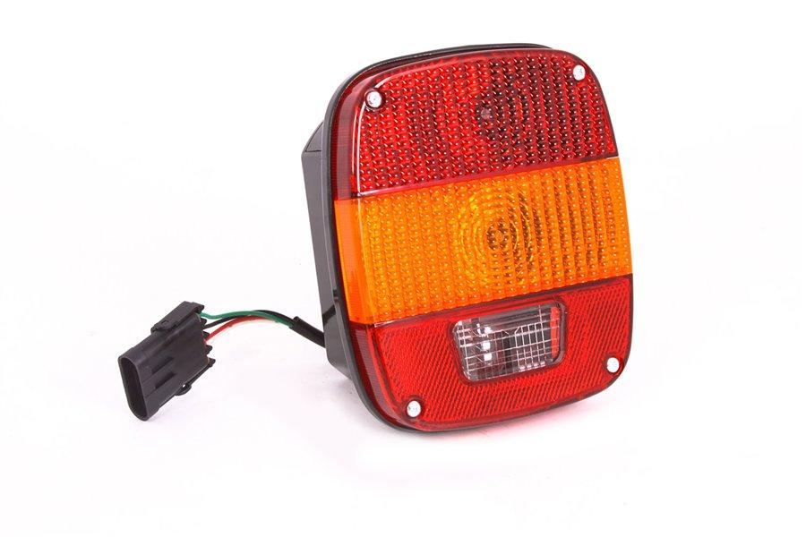 Lampa tylna, wersja europejska : 87-95 Jeep Wrangler YJ