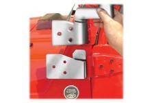 Mocowanie lusterek, Stal nierdzewna : 03-06 Jeep TJ/LJ Wrangler