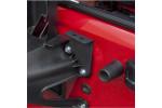 CB Radio and Antenna Mount Kit : 07-17 Jeep Wrangler JK