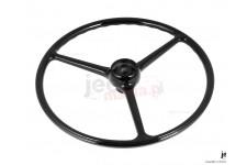 Steering Wheel, Black : 64-75 Jeep CJ Models