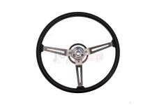 Steering Wheel, Vinyl : 76-95 Jeep CJ/Wrangler