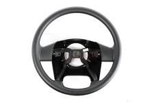 Steering Wheel, Black Vinyl : 03-06 Jeep Wrangler TJ/LJ