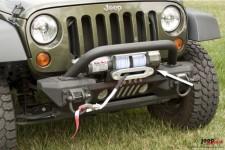 Zderzak przedni aluminiowy XHD z płytą wyciągarki i osłoną