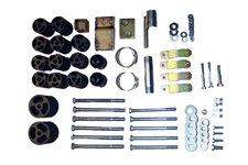 Zestaw podnoszenia karoserii 3 cale : 97-06 Jeep Wrangler TJ