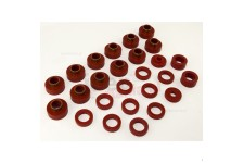 Body Mount Kit, Red, 26 Pieces : 81-86 Jeep CJ8