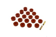 Bushing Set Body Mount : 74-75 Jeep CJ Models