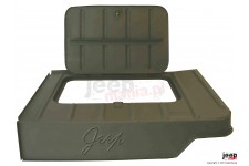 Tool Compartment with Jeep Script : 46-75 Willys/Jeep