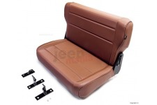 Fold and Tumble Replacement Rear Seat : 76-95 Jeep CJ/Wrangler YJ