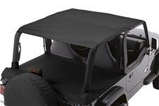 Dach miękki mocowany do orurowania, Black Denim : 97-06 Jeep Wrangler TJ