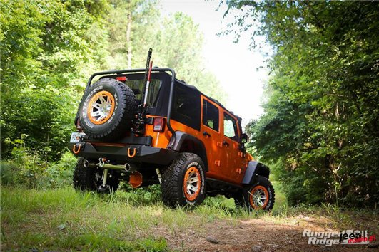Offroad Jack Mounting Bracket : 07-17 Jeep Wrangler JK