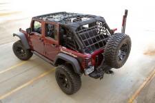 Siatka bagażowa, czarna : 07-17 Jeep Wrangler JK Unlimited
