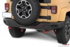 Mopar® Rubicon 10th Anniversary Off Road Bumper, REAR