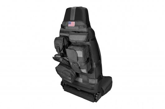 Front Cargo Seat Cover, Black : 76-17 Jeep CJ/Wrangler YJ/TJ/JK