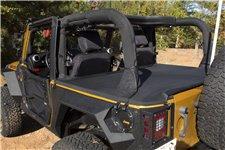 Plandeka bagażnika : 07-18 Jeep Wrangler JK, 2 drzwiowy