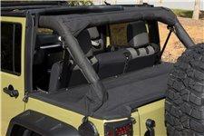 Plandeka bagażnika : 07-18 Jeep Wrangler JKU, 4 drzwiowy