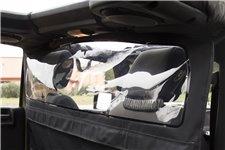 Osłona przeciwwiatrowa kabiny, z oknem : 07-18 Jeep Wrangler JK Unlimited 4D