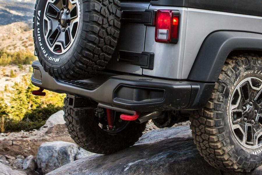 Zderzak tylny, stylizowany na rocznicowy : 07-17 Jeep Wrangler JK
