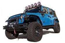 8 elementowy zestaw poszerzeń błotników All Terrain, 07-16 Jeep Wrangler